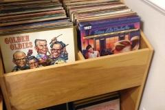 Custom Record Cabinet